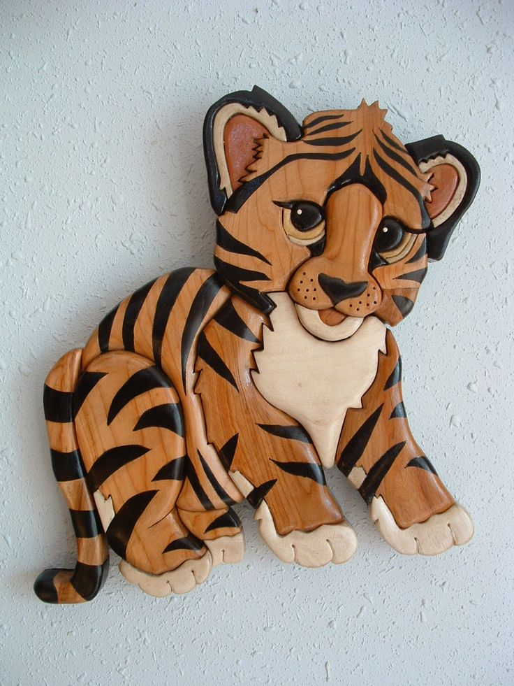 Free Intarsia and Scroll Saw Woodworking Plans with Instructions