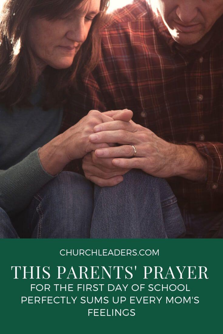 Prayer for the First Day of School | The Best Girl Moms | Prayer for