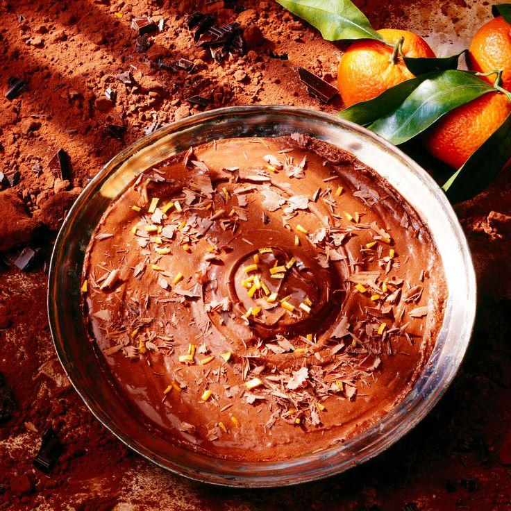 Découvrez la recette de la mousse au chocolat au gingembre confit