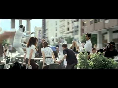 Coolest fencing commercial ever, features Zinedine Zidane