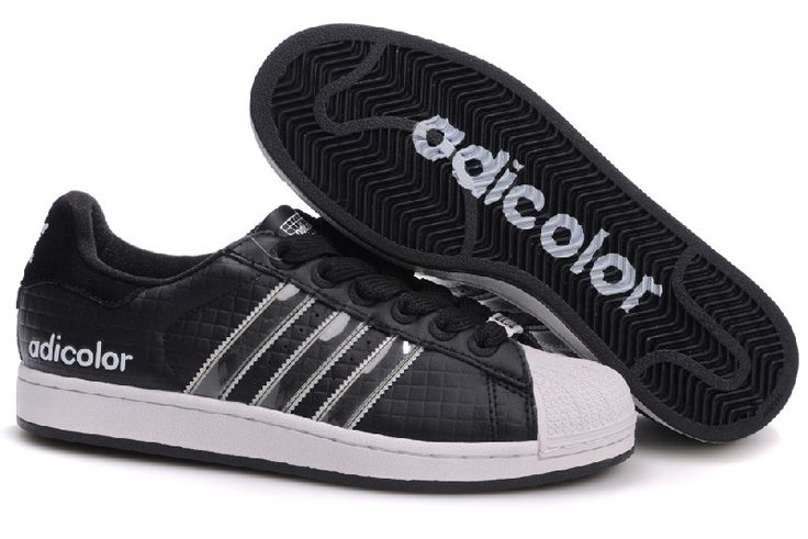 Cheap Adidas Superstar Sneakers in Black Glue Store