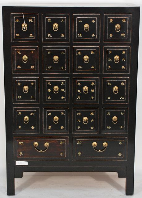 Chinese apothecary cabinet, would love this for my flower essences, herbal tinctures etc.