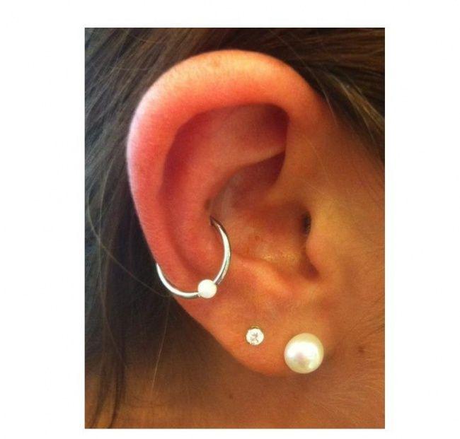 Orbital piercing - pomysły na modną ozdobę ucha - Strona 3