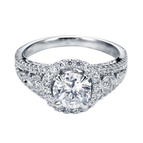 Diamond engagement ring  #Engagement #Ring #Junikerjewelry