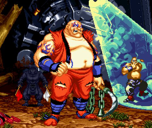 Samurai Shodown II, Neo Geo.
