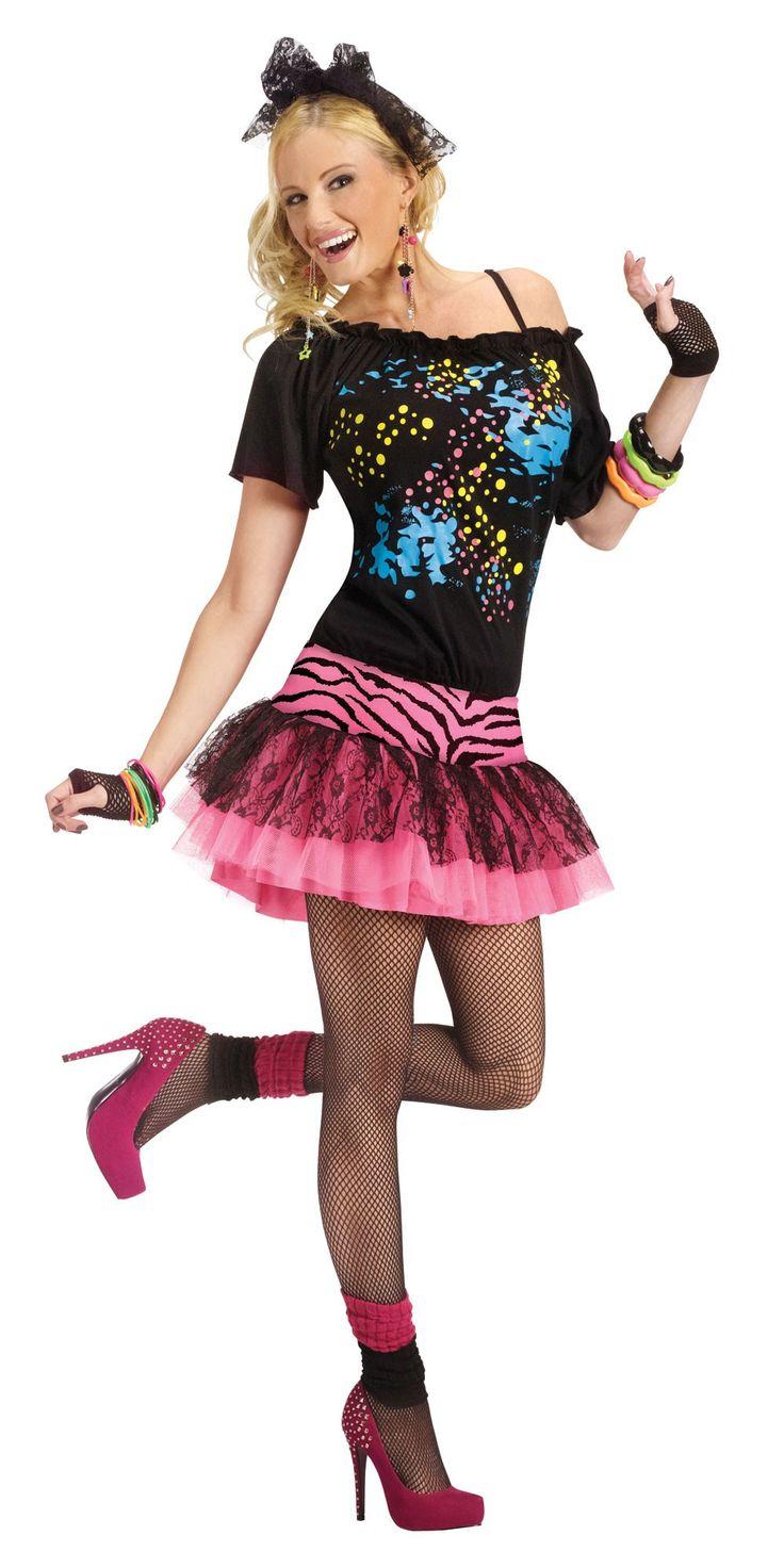 80's Pop Party Women's Costume