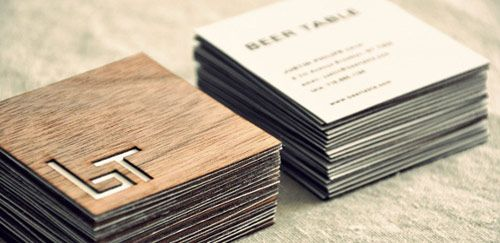14 beertable businesscard in Inspiring Double Sided Business Cards - Graphic Design