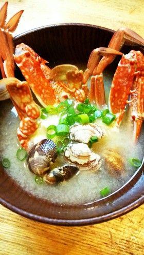 渡り蟹とアサリの味噌汁 by クンくんキッチン [クックパッド] 簡単 ...