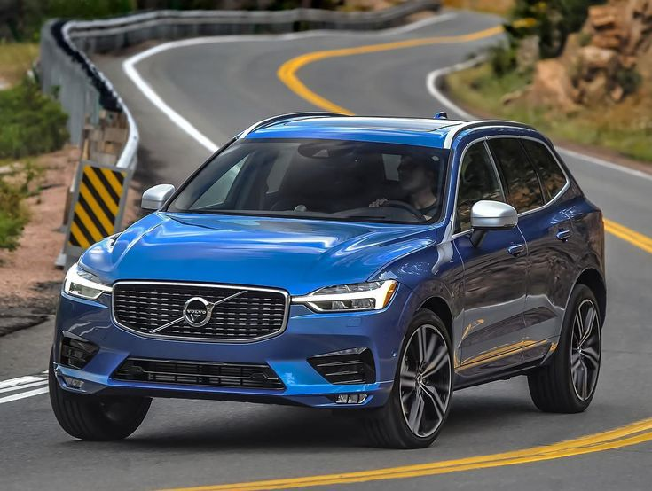 """""""The 2018 Volvo XC60 carries on the Swedish brand's breathtaking visual makeover."""" - @motortrend"""