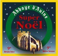 Abbaye d'Aulne super Noël Sterkte : 9 % Een zwaar, stevig donker bier, met een gebrande smaak.