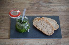 Groene pesto - Uit de pan van San