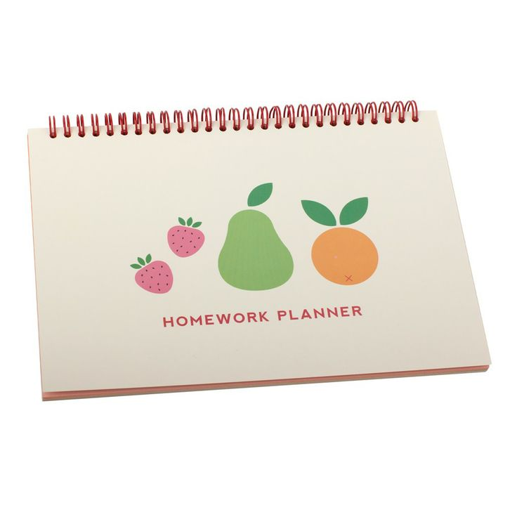 Plan ahead , schedule in homework and upcoming assignments and stay organised and in control with this gorgeous Homework Planner. #backtoschool