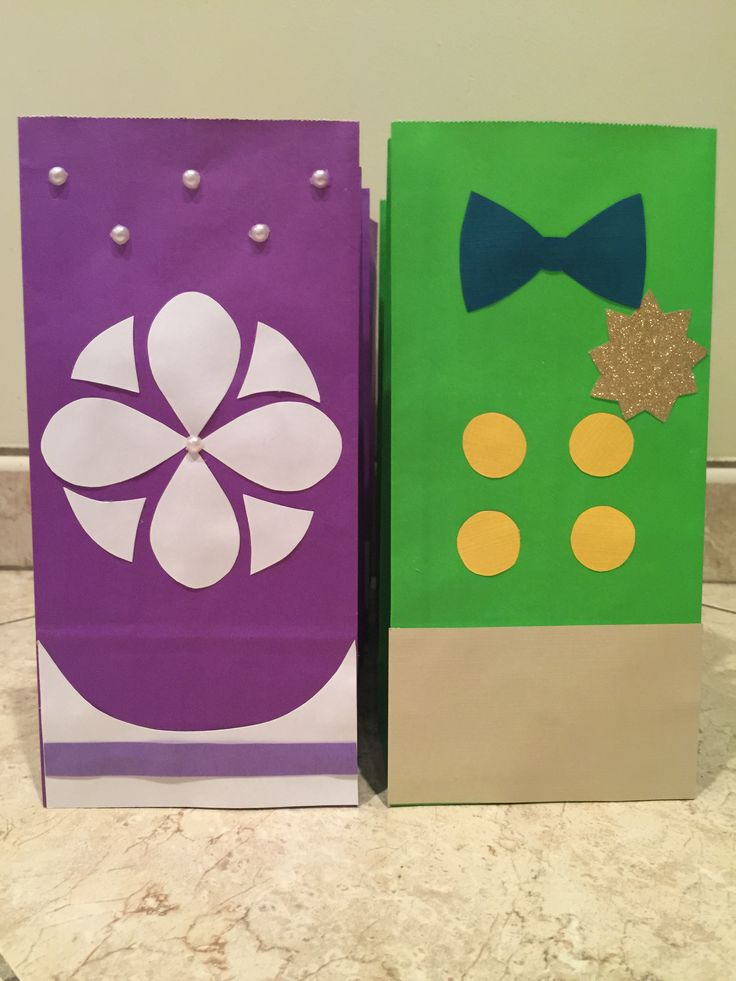 Sofia the first & James Candy bags