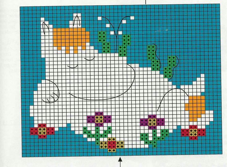 Afbeeldingsresultaat voor moomin knitting pattern