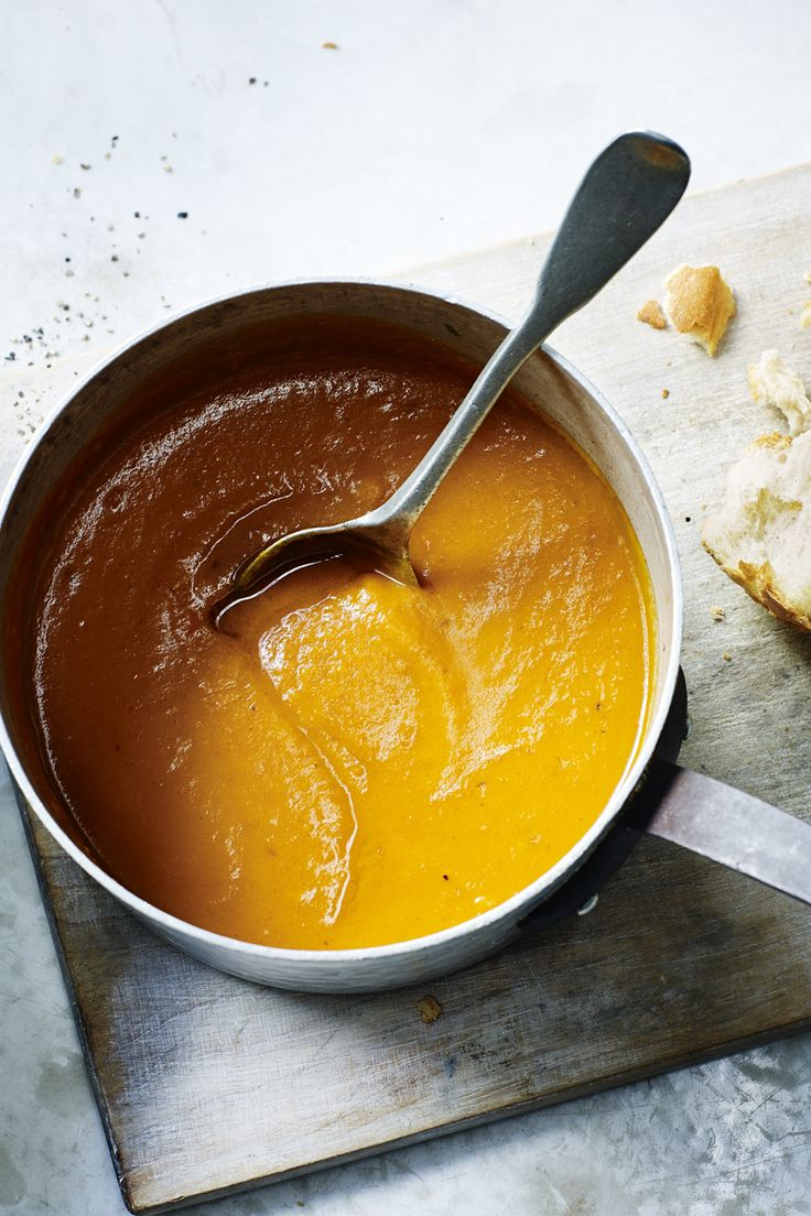 A lovely, warming butternut squash soup from Mary Berry. So easy!