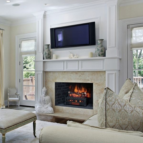 25 best ideas about duraflame electric fireplace on