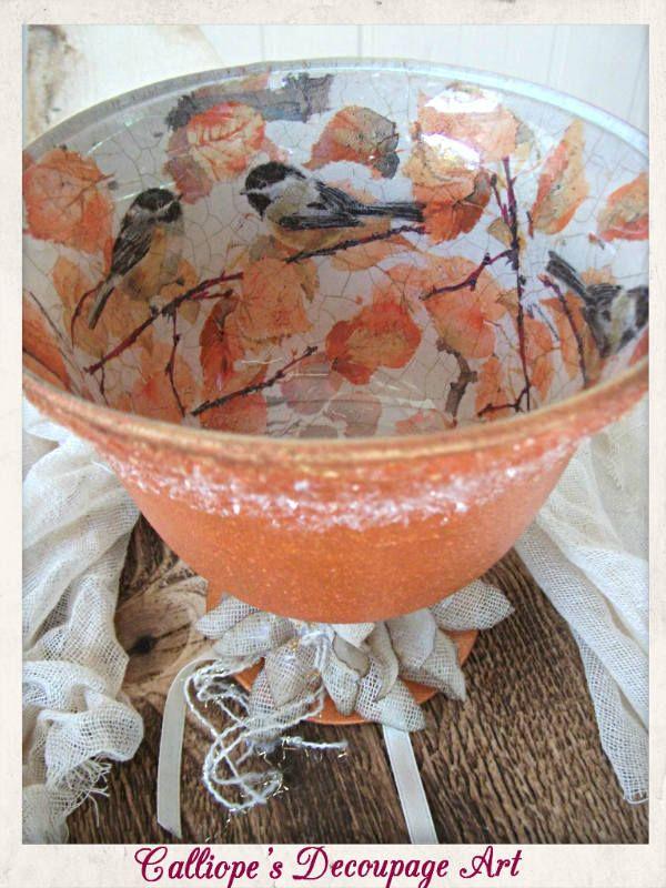 Ποτήρια | Calliope's Decoupage Art