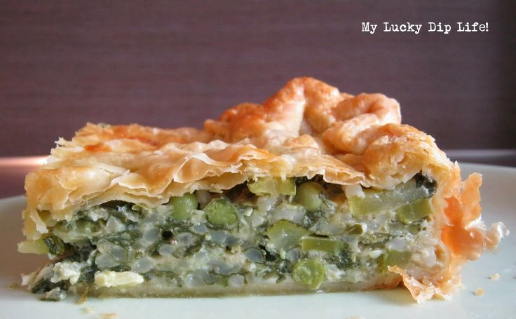 Torte Verde_My Lucky Dip Life! Of wat te doen als je een overvloed aan warmoes, courgette en eieren hebt :-) :-)