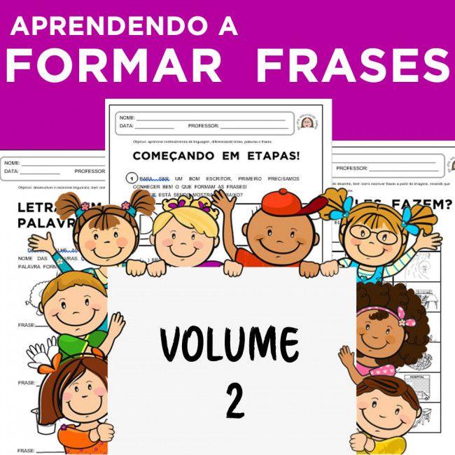 Código 927 - Aprendendo a formar frases - volume 2
