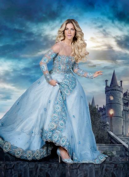 Giovanna Ewbank vive seu dia de Cinderela