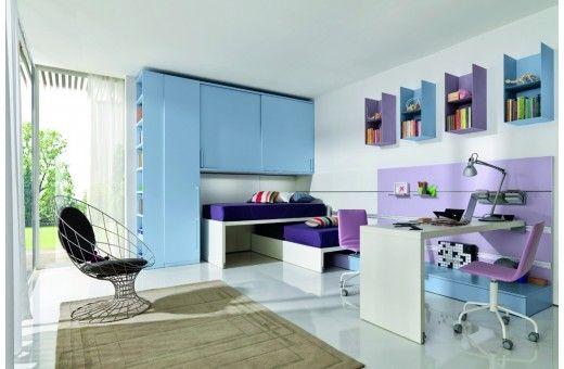 Casa Di Patsi - Έπιπλα και Ιδέες Διακόσμησης - Home Design ΜULTISPAZIO 6 - Παιδικο δωμάτιο - ΕΠΙΠΛΑ