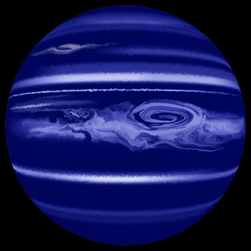 Neptun - 4.688 Million Kilometers away from earth