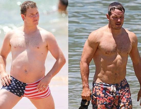 Gallery which shows how Chris Pratt changed :) Marvel UR awesome!! There should be Marvel-Gyms arond the world ;) /// Chris Pratt zrzucił prawie 30 kilo w 6 miesięcy!