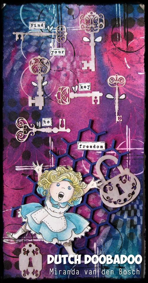472.948.009 Dutch Paper Art Keys door Miranda van den Bosch