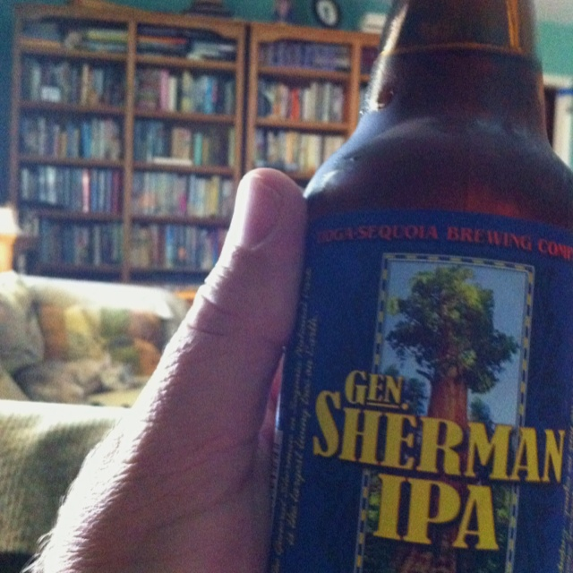 The Gen Sherman IPA from Tioga-Sequoia in Fresno CA is MAGIC.