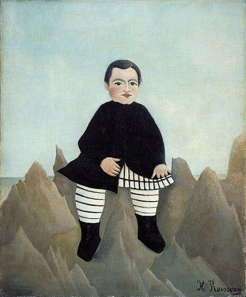 Boy on the Rocks - 1985-7 - Henri Rousseau.jpg