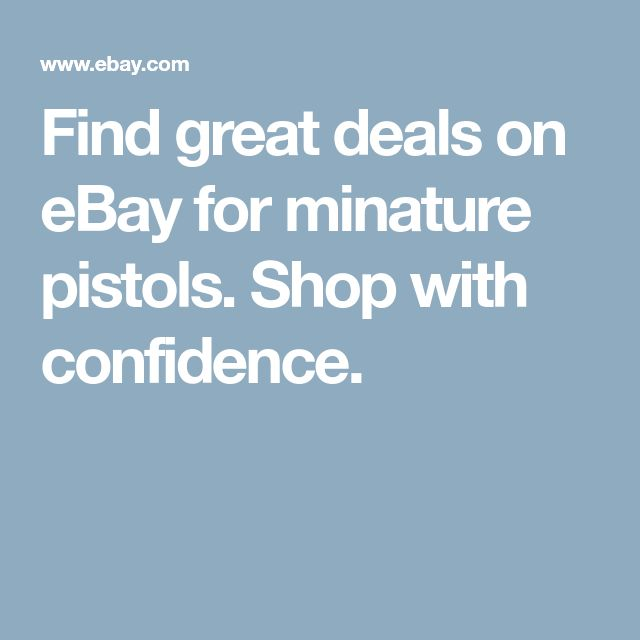 Find Great Deals On Ebay For Minature Pistols Shop With 640 x 480