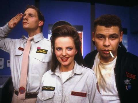 Sci-fi comedy Red Dwarf airs Sundays at 11pm on WETA UK!