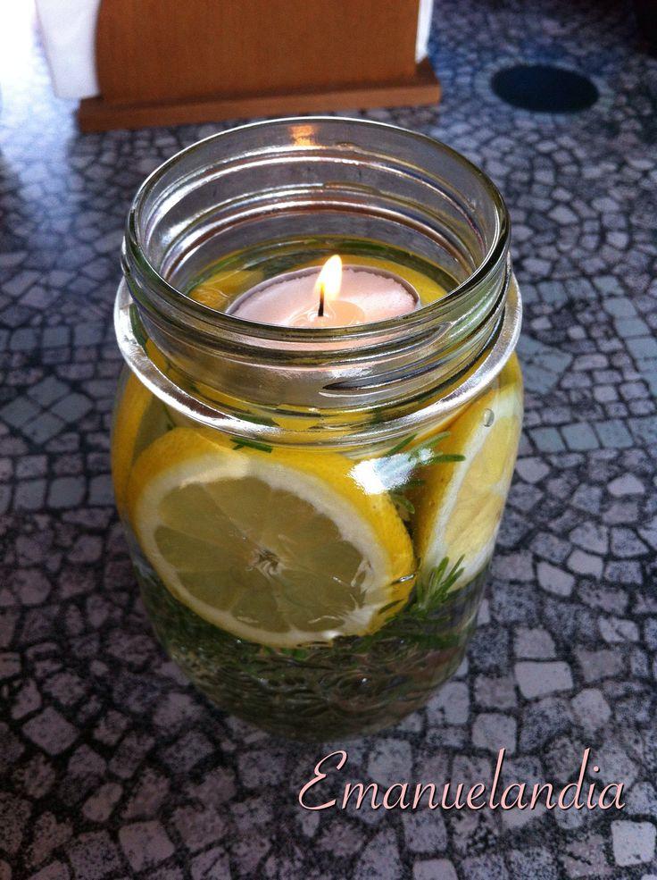 Centrotavola con limoni | Emanuelandia...