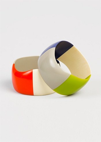 #TS14+ Thick Tricolour Bangle $14.95  #plussize #curvy #armcandy