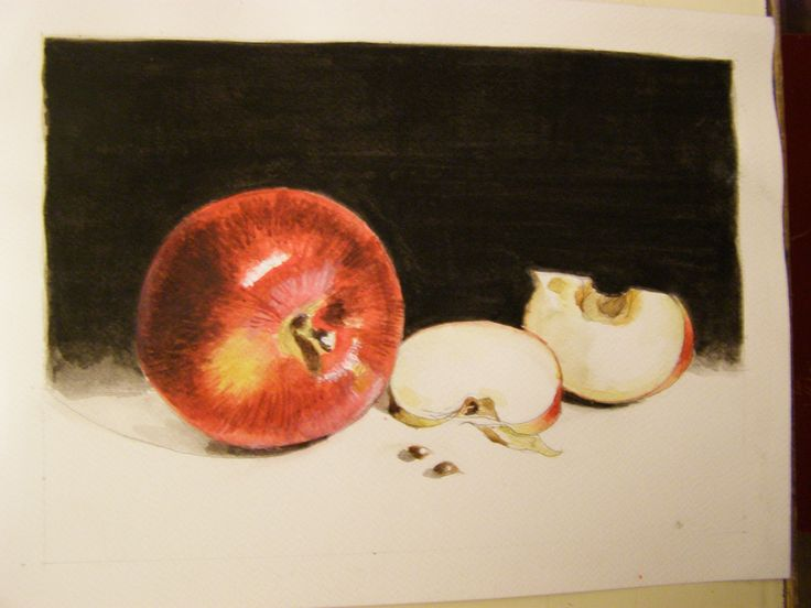Apples- watercolour