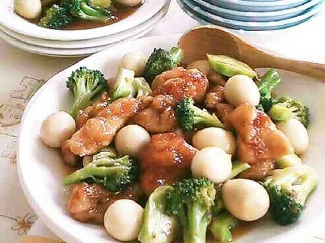 中華風鶏肉のとろとろオイスター煮込み☆の画像