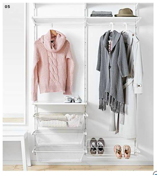 17 best images about ikea algot on pinterest closet organization hooks and shoe shelves. Black Bedroom Furniture Sets. Home Design Ideas