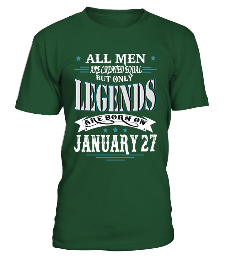 Legends are born on January 27  #gift #idea #shirt #image #funny #new #top #best #videogame #tvshow #like