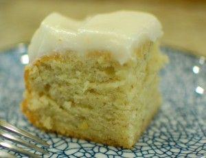 Banana Cake / Entenmann's Old Banana Cake Copycat Recipe (The 350 Degree Oven), made with sour cream