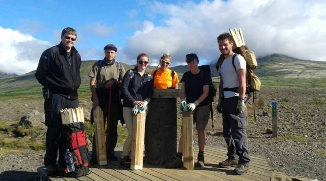 We now have free spots at our wilderness project in Iceland!