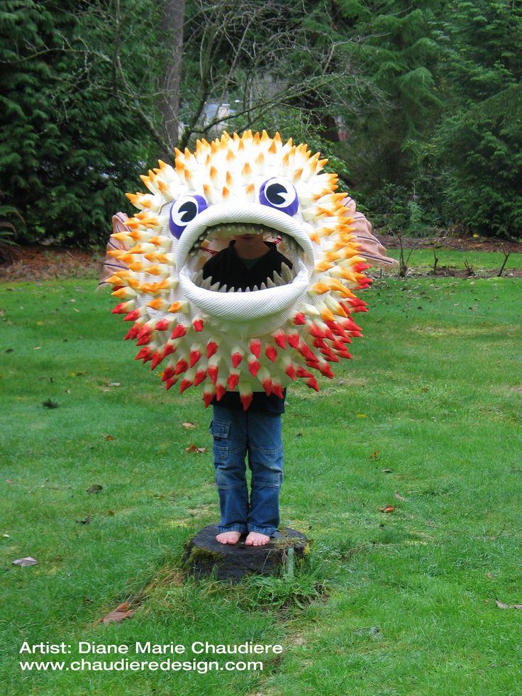 Best 25 fish costume ideas on pinterest diy fish for Puffer fish costume