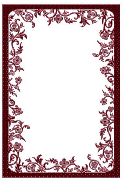 Large Red Transparent Frame | منتدى مدينة قطنا ...