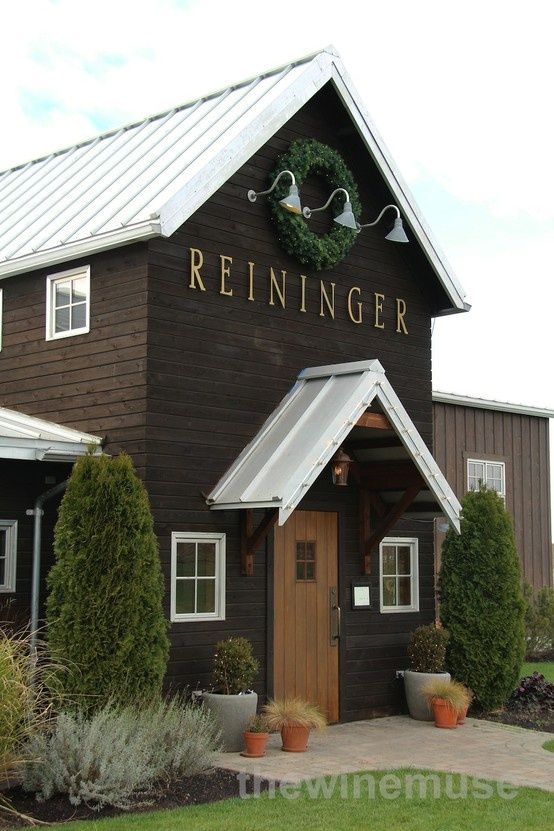 On a very blustery Winter's day, there is always a welcome at the Reininger Cellar Door in the heart of Washington State's Western Walla Walla Valley.   Read more about this cellar door and its wines on www.winemuse.com.au.  Image source: thewinemuse