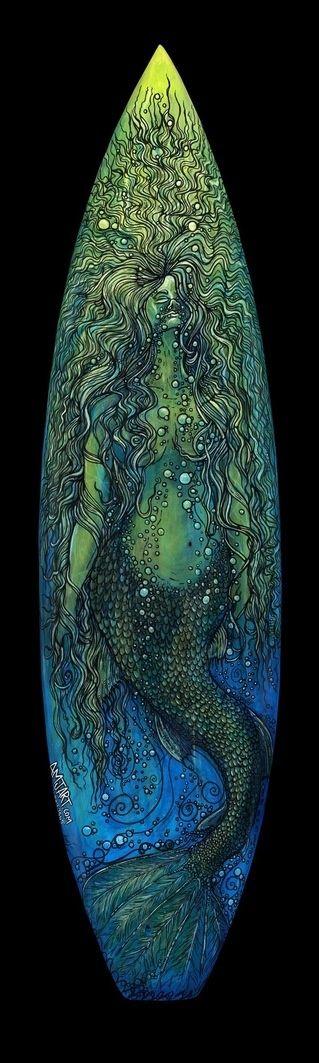 Surf board art