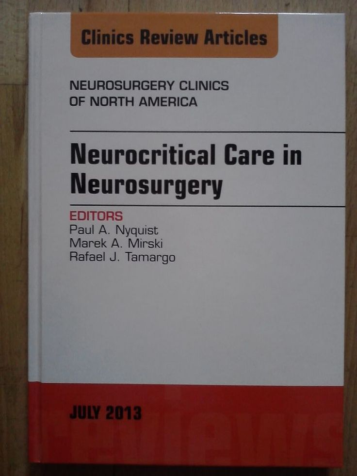 Neurocritical Care in Neurosurgery, Neurochirurgie, Unfallchirurgie, Orthopädie
