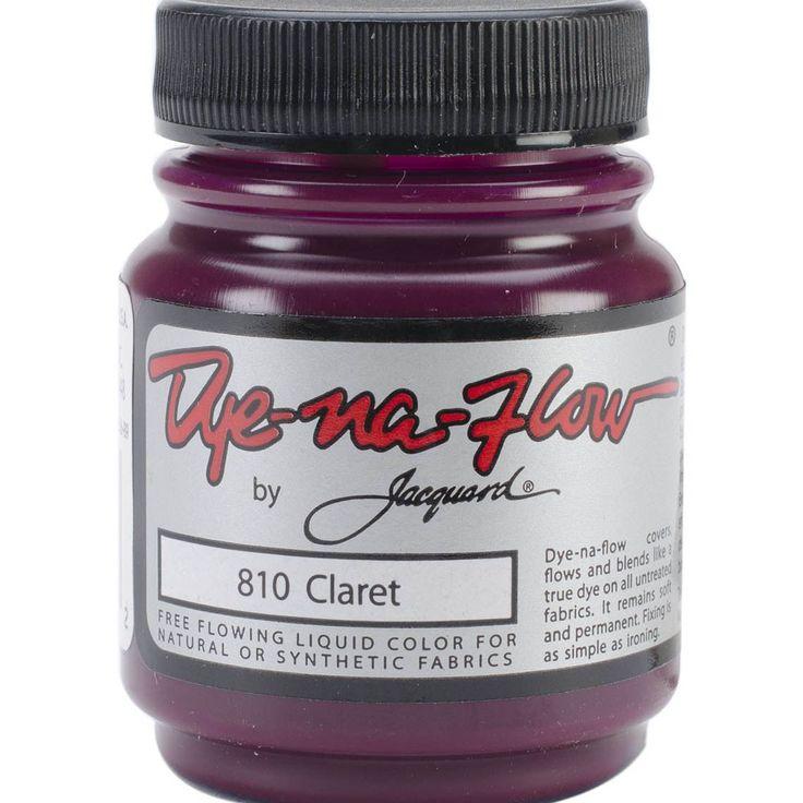 Jacquard Dye-Na-Flow Liquid Color 2-1/4 Ounces-Claret