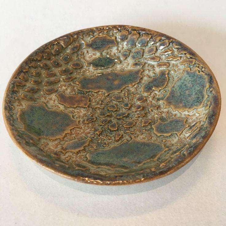 Ceramic trinket dish, tea light holder, ceramic ring dish, jewellery dish, trinket bowl, small ceramic bowl, soap dish, rings and things by RJPotteryshop on Etsy https://www.etsy.com/uk/listing/553000581/ceramic-trinket-dish-tea-light-holder