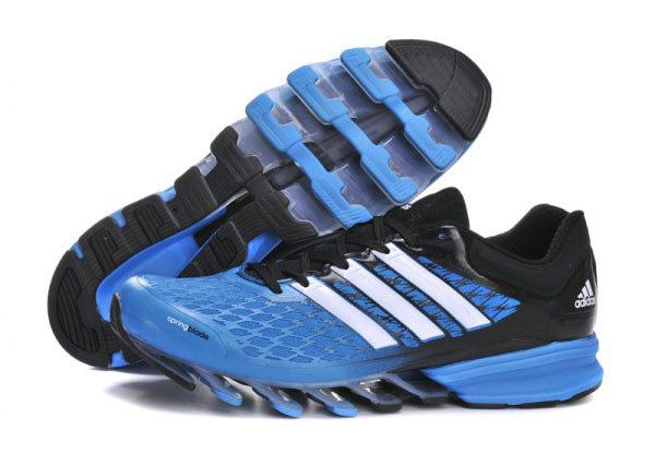 b4d99843f6a2 Adidas Springblade Razor Shoes Blue Black White Adidas Running Shoes