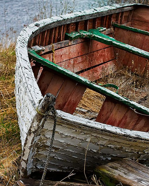 Old boat at Brigus, Newfoundland, @ 	  rad_photo's photostream (Flickr)