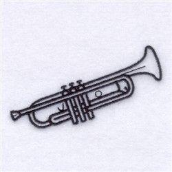 trumpet outline
